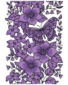Crafter's Companion Background Layering Stamps - Butterfly Bouquet