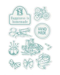 Sara Signature Sew Lovely Clear Acrylic Stamp - Tailor-made