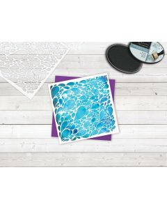 Sara Signature Enchanted Forest Stencil - Droplets