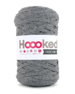 Hoooked RibbonXL Yarn - Stone Grey