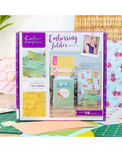 Crafter's Companion Monthly Craft Kit 9 - Embossing Craft Kit (Individual Purchase)
