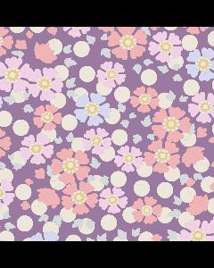Tilda Plum Garden Fabric - Windflower Lavender