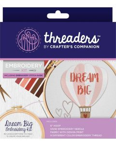 Threaders Embroidery Kit - Dream Big