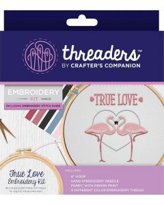 Threaders Embroidery Kit - True Love