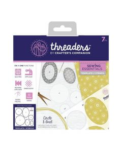 Threaders Sewing Essentials Template and Stencil - Circle and Oval