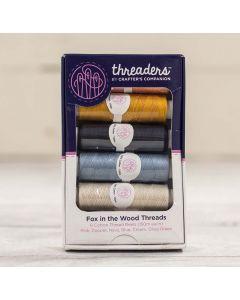 Threaders Fox In The Wood 6 Piece Thread Box