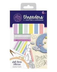 Threaders Embroidery Stranded Cotton - Soft Tones Collection
