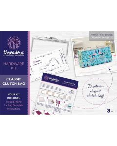 Threaders Hardware Kit - Classic Clutch Bag