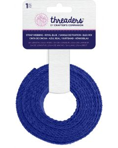 Threaders Strap Webbing - Royal Blue