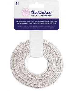 Threaders Strap Webbing - Soft Grey