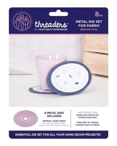 Threaders Nesting Die - Oval