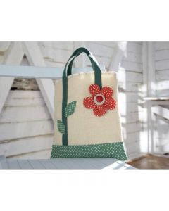 Debbie Shore Pattern and Instructions Download - Flower Tote