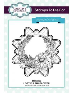 Stamps to Die For - Lottie's Sunflower