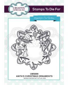 Creative Expressions Pre Cut Stamp - Anita's Ornaments