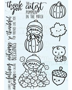 Mama Makes Clear Photopolymer Stamps - Autumnal Bella