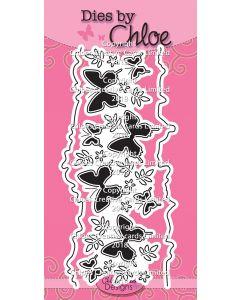Dies by Chloe - Beautiful Butterfly Border