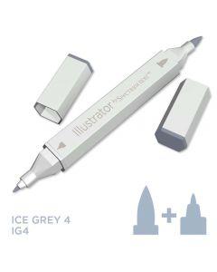 Illustrator by Spectrum Noir Single Pen - Ice Grey 4