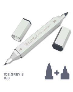 Illustrator by Spectrum Noir Single Pen - Ice Grey 8