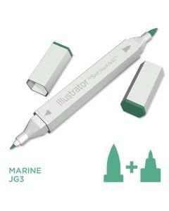 Illustrator by Spectrum Noir Single Pen - Marine