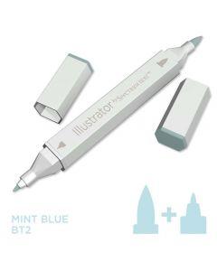 Illustrator by Spectrum Noir Single Pen - Mint Blue