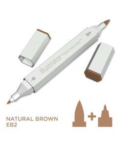 Illustrator by Spectrum Noir Single Pen - Natural Brown