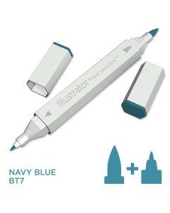 Illustrator by Spectrum Noir Single Pen - Navy Blue