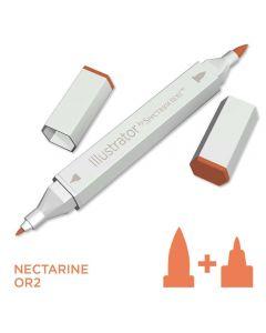 Illustrator by Spectrum Noir Single Pen - Nectarine