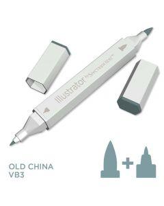 Illustrator by Spectrum Noir Single Pen - Old China