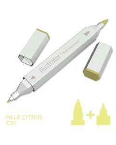 Illustrator by Spectrum Noir Single Pen - Pale Citrus