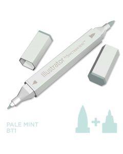 Illustrator by Spectrum Noir Single Pen - Pale Mint