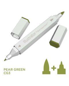 Illustrator by Spectrum Noir Single Pen - Pear Green