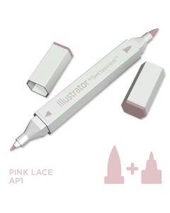 Illustrator by Spectrum Noir Single Pen - Pink Lace