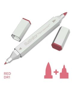 Illustrator by Spectrum Noir Single Pen - Red