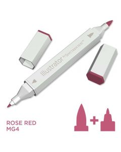 Illustrator by Spectrum Noir Single Pen - Rose Red