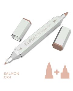 Illustrator by Spectrum Noir Single Pen - Salmon
