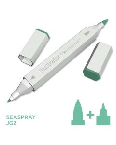 Illustrator by Spectrum Noir Single Pen - Sea Spray