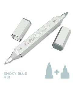 Illustrator by Spectrum Noir Single Pen - Smoky Blue