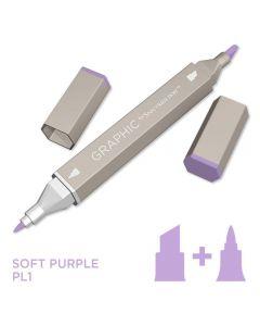 Graphic by Spectrum Noir Single Pens - Soft Purple