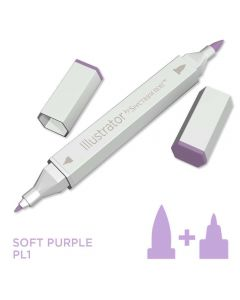 Illustrator by Spectrum Noir Single Pen - Soft Purple