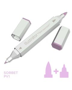 Illustrator by Spectrum Noir Single Pen - Sorbet