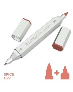 Illustrator by Spectrum Noir Single Pen - Spice
