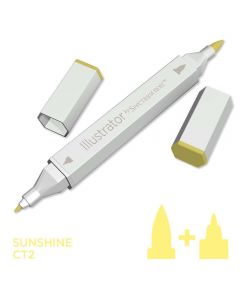 Illustrator by Spectrum Noir Single Pen - Sunshine