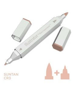 Illustrator by Spectrum Noir Single Pen - Suntan