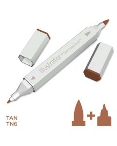 Illustrator by Spectrum Noir Single Pen - Tan
