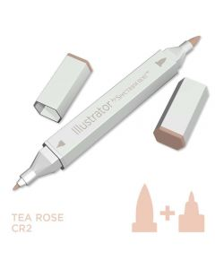 Illustrator by Spectrum Noir Single Pen - Tea Rose