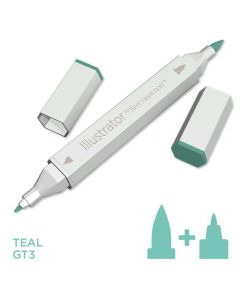 Illustrator by Spectrum Noir Single Pen - Teal