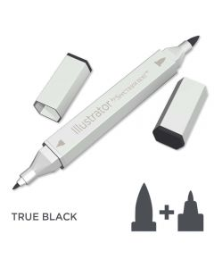 Illustrator by Spectrum Noir Single Pen - True Black