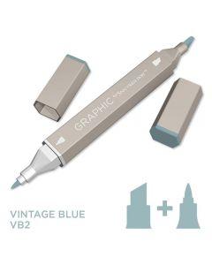 Graphic by Spectrum Noir Single Pens - Vintage Blue