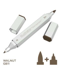 Illustrator by Spectrum Noir Single Pen - Walnut