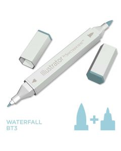 Illustrator by Spectrum Noir Single Pen - Waterfall